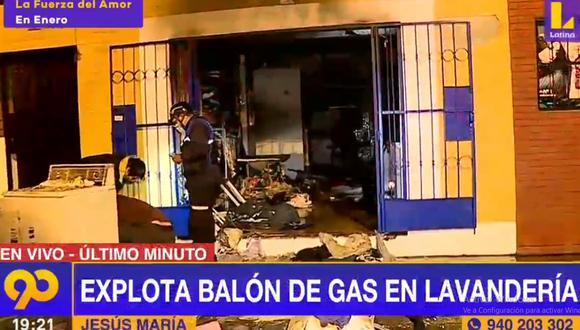 La deflagración no causó heridos ni víctimas mortales. (Latina)