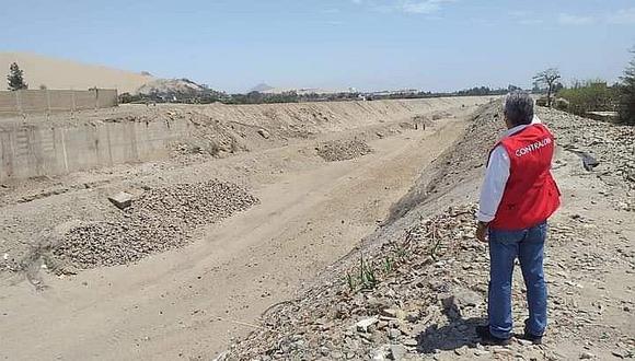 Detectan firmas presuntamente falsas en obra del río Ica