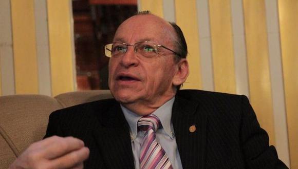 Fiscal José Peláez admite que lo investigan por allegado a Rodolfo Orellana (video)