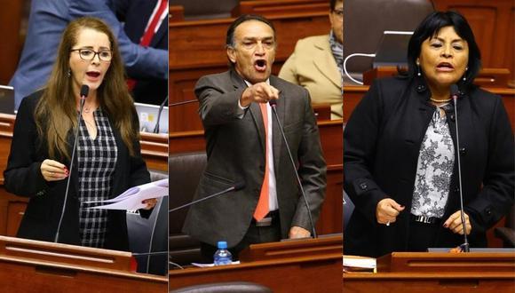 """Fujimoristas Bartra, Becerril y Saavedra no darán voto de confianza al Ejecutivo: """"Nos une el amor a la patria"""""""