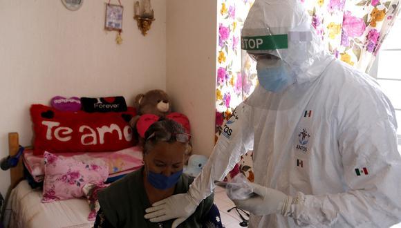 México detectó el primer caso de la variante india del coronavirus en el estado de San Luis Potosí. (Foto: ULISES RUIZ / AFP)