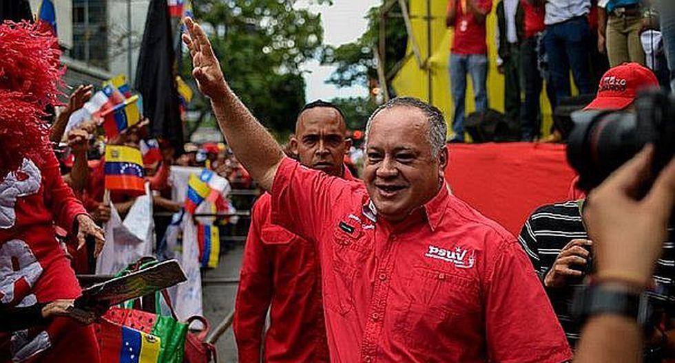 Diosdado Cabello viajó de forma sorpresiva a Cuba