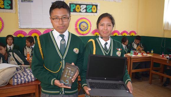 Sachaca reconoce a alumnos excelencia por Día del Estudiante