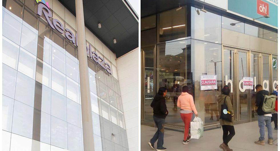 VMT: Clausuran conocido centro comercial por no cumplir con medidas de seguridad (FOTOS)