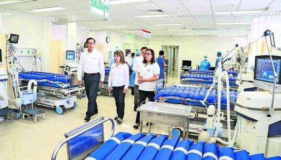 Hospital de Ate. Foto: Presidencia