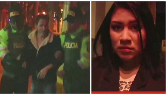 Kike Suero fue detenido en Ica acusado de agredir a su esposa en un hotel (VIDEO)