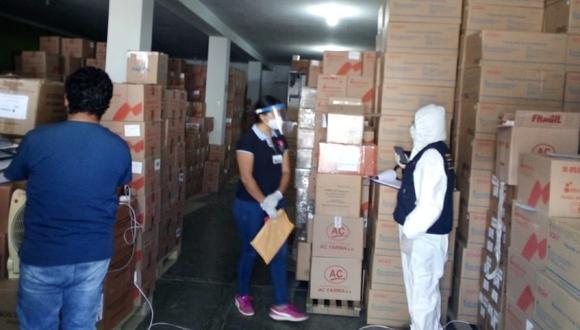 Huánuco: Equipo de la Fiscalía investiga millonaria pérdida de medicinas de Hospital Hermilio Valdizán.