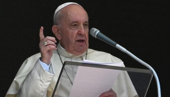 Imagen del Papa Francisco. (Foto de VINCENZO PINTO / AFP).