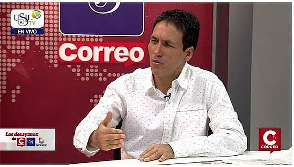 """Segundo Tapia: """"Posición de PPK afecta clima de tranquilidad"""""""