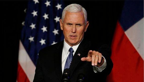 Vicepresidente de EE.UU. llega a Lima para asistir a la VIII Cumbre de las Américas (VIDEO)
