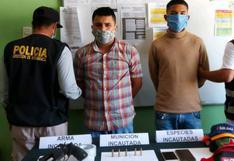 Dos sujetos que asaltaban con arma de fuego son capturados en medio de tiroteo en Piura (VIDEO)