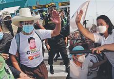 Pedro Castillo y Keiko Fujimori acortan distancia, Verónika Mendoza reaparece y Francisco Sagasti se indigna