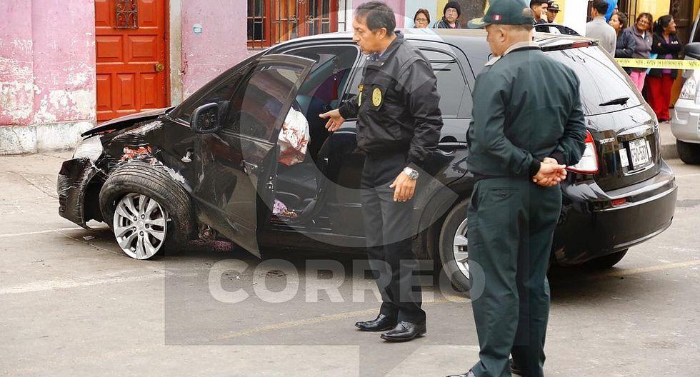 Callao: Policía es baleado mientras se transportaba en su vehículo (VIDEO)
