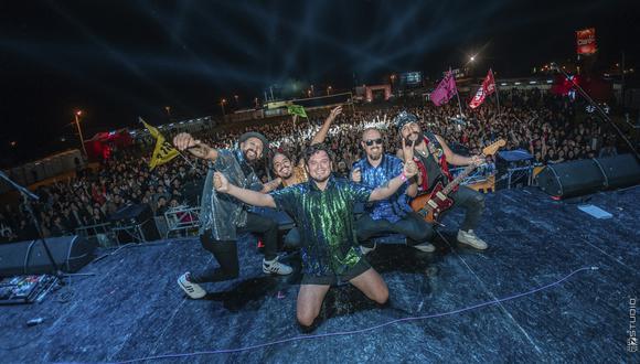 """""""Me voy"""", el nuevo single de Barrio Calavera, fue producido en Colombia por Jorge Holguin Pyngwi, (Foto: Barrio Calavera)"""