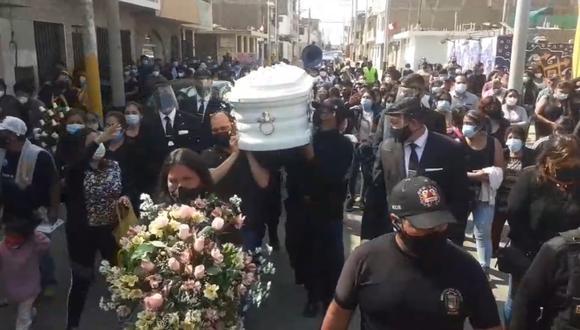 Lucía Marrufo Asmat, quien trabajaba como agente de serenazgo Moche, fue ultimada de varias puñaladas por su pareja. (Foto captura)
