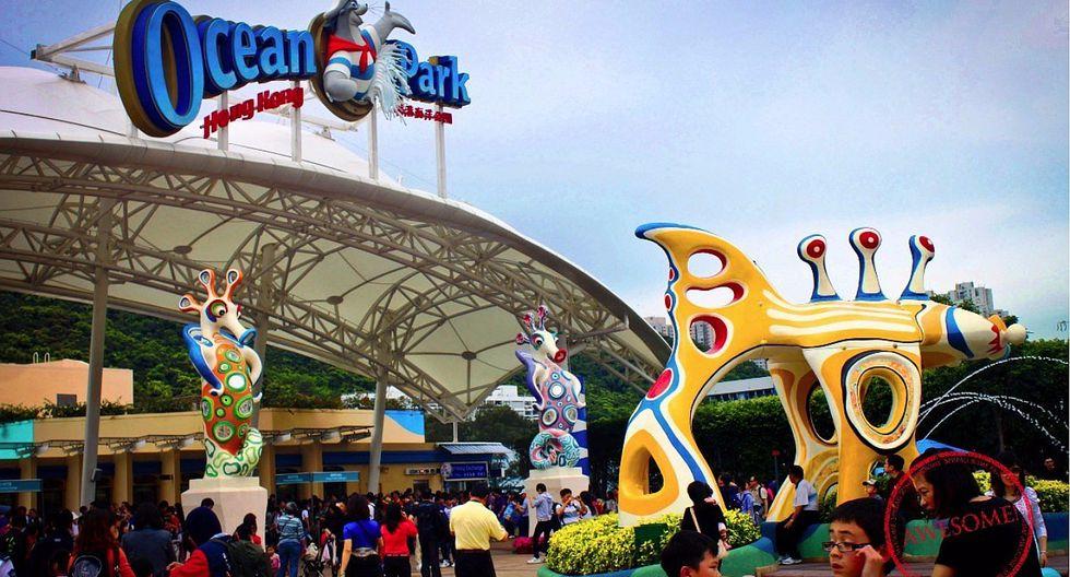"Joven muere en atracción ""Enterrado vivo"" de un parque temático de Hong Kong"