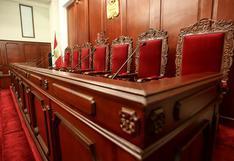 Congreso nombrará el 17 de enero a los nuevos magistrados del TC