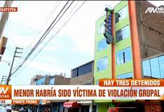 Puente Piedra: investigan a tres amigos por presunto abuso grupal a una menor