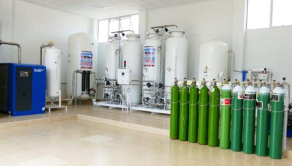 Mientras, Héctor García, director de Modasa, afirmó que las plantas de oxígeno donadas son automatizadas, cumplen con los estándares internacionales y están certificadas. (Foto referencial)