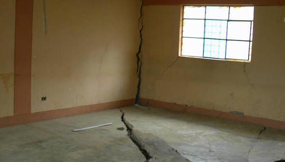 Áncash: Entregan seis aulas prefabricadas a colegio de Socosbamba