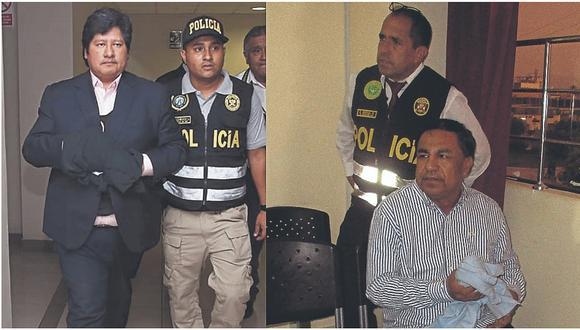 Edwin Oviedo y Willy Serrato serían cambiados de prisión