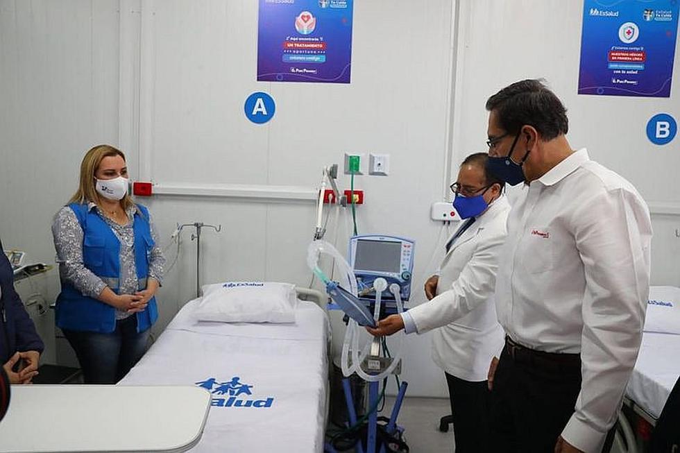 EsSalud inicia funcionamiento de Centro de Atención COVID-19