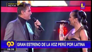 Mira aquí los mejores momentos del gran estreno de La Voz Perú