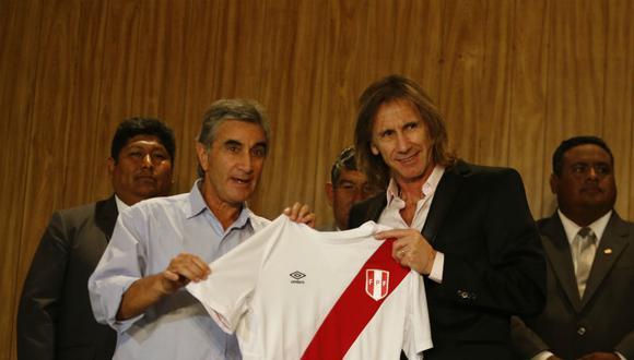 Ricardo Gareca ya es el técnico de la selección peruana de fútbol