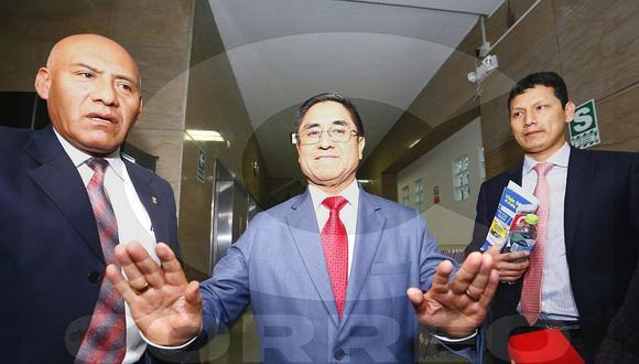 """César Hinostroza dice que no conoce al presidente Vizcarra: """"Se han violado mis derechos humanos"""""""