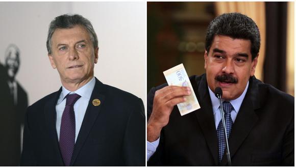"""Nicolás Maduro sobre Mauricio Macri: """"Es uno de los personajes más oscuros, nefastos y criminales"""""""