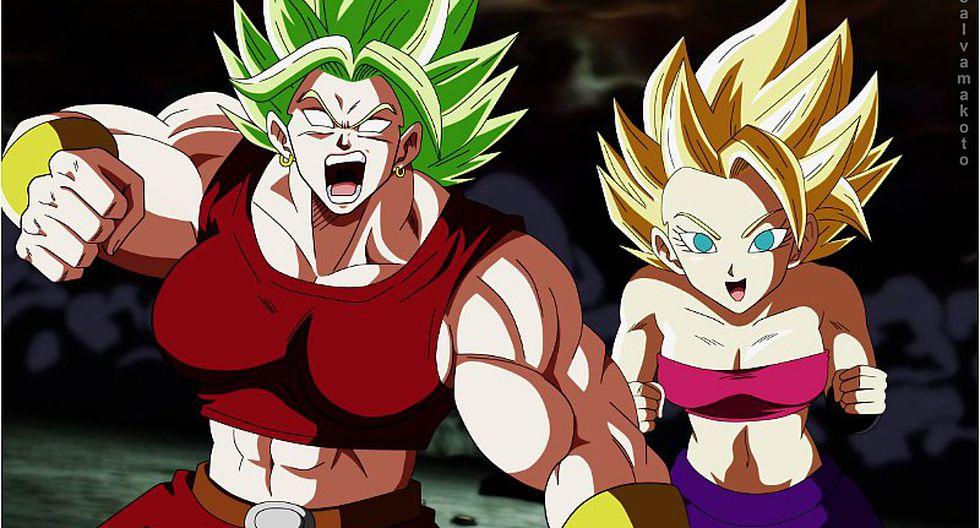 Dragon Ball Super: revelan la verdadera apariencia de la fusión de Kale y Caulifla (FOTO)