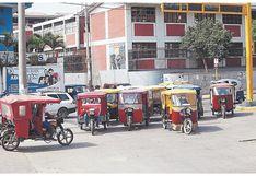 Piura: 30 mil mototaxistas trabajan de forma ilegal