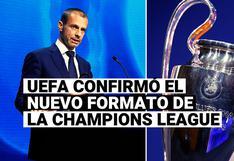 Champions League: UEFA confirmó el novedoso formato para el torneo de clubes desde 2024