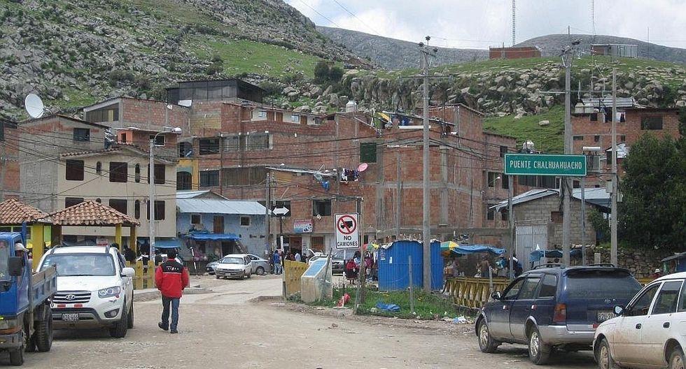 Proyecto de agua potable para Challhuahuacho con 88,4% de avance está paralizado