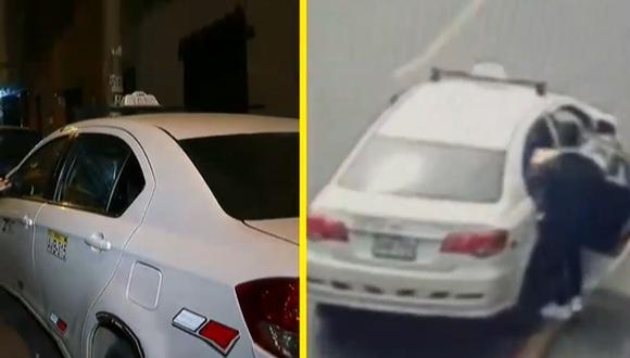 Encuentra vehículo que fue usado para robar mercadería valorizada en 10 mil dólares. (Foto: Captura Latina)
