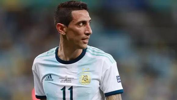 Di María marcó el gol del título de Argentina en la Copa América. (Foto: EFE)