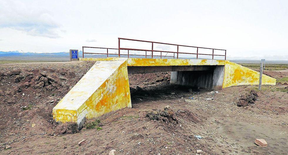 Tres puentes nuevos en Cojata habrían sido sobrevalorados