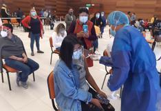 Inició vacunación a menores en Tacna