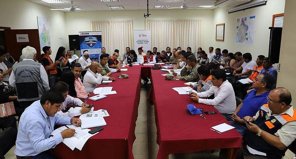Declaran en emergencia 10 distritos de Tacna