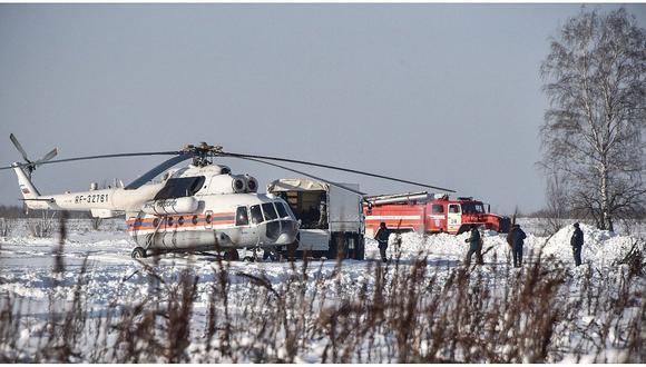 Revelan causa de accidente de avión ruso que se estrelló en Moscú