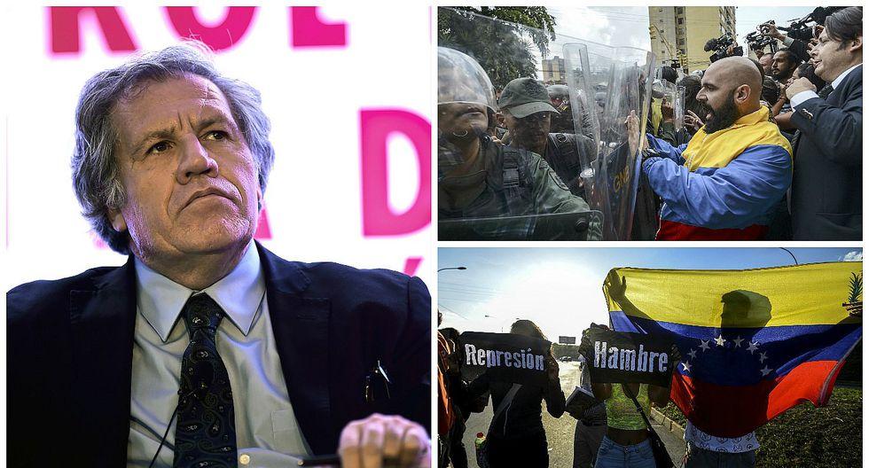 Luis Almagro solicita sesión urgente en la OEA para aplicar la Carta a Venezuela