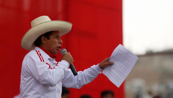 El candidato de Perú Libre se impone sobre Keiko Fujimori en Arequipa, Cusco, Cajamarca, Áncash y Huancavelica, entre otras (Foto: AFP Gian Masko)