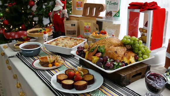 Pavo navideño con salsa de arándanos es una propuesta novedosa, así como el muffin con harina de tocosh, en reemplazo del clásico panetón