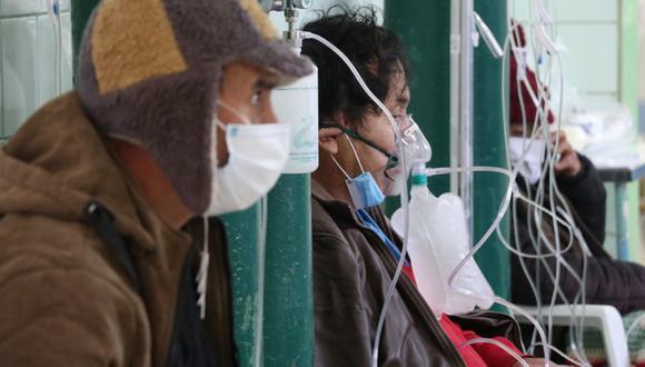 Nuevamente cada vez más pacientes necesitan del oxígeno