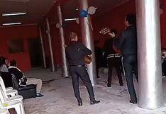 Intervienen fiesta de cumpleaños que se realizaba con mariachi incluido en Huancayo (VIDEO)