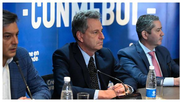 Presidente de Flamengo y lo que dijo sobre jugar en Lima la final de la Copa Libertadores