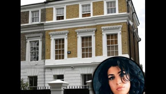 Casa donde fue hallada muerta Amy Winehouse será subastada