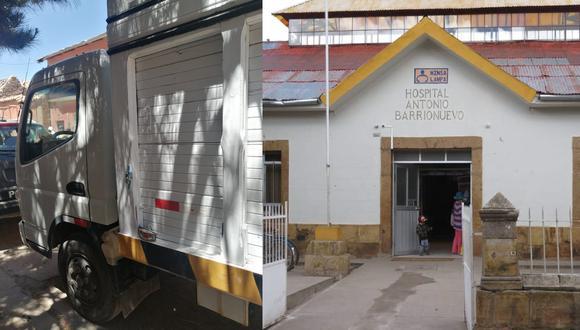El niño falleció en el hospital Antonio Barrionuevo de Lampa. (Foto: Difusión)