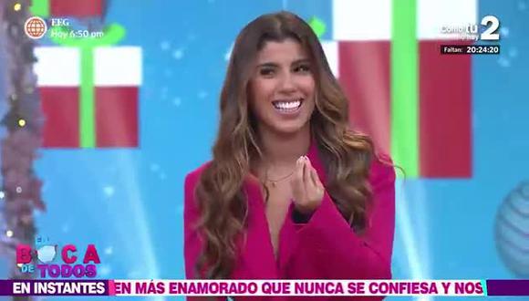 Yahaira Plasencia contó que está conociendo a un hombre boricua alejado del mundo del espectáculo. (Fuente: América TV).