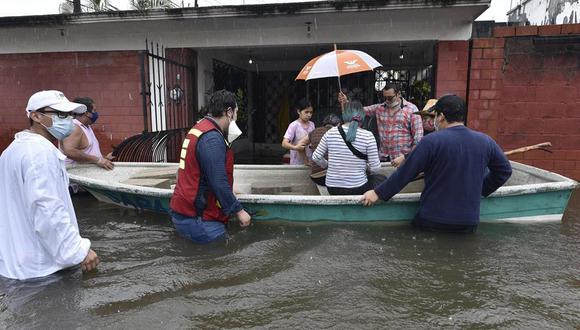La Comisión Nacional del Agua (Conagua) de México informó en un comunicado que en las próximas horas incrementará el desfogue de la presa. (EFE)